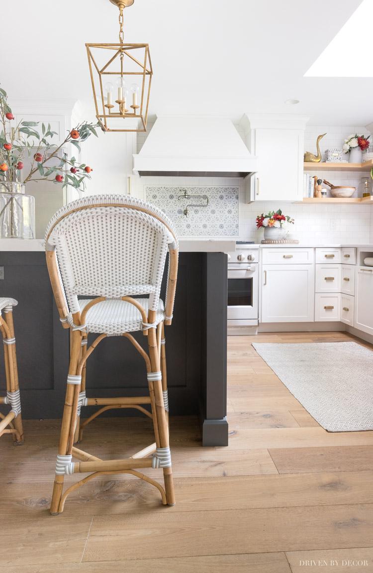 Great review of Hallmark's Malibu Oak flooring - so gorgeous!