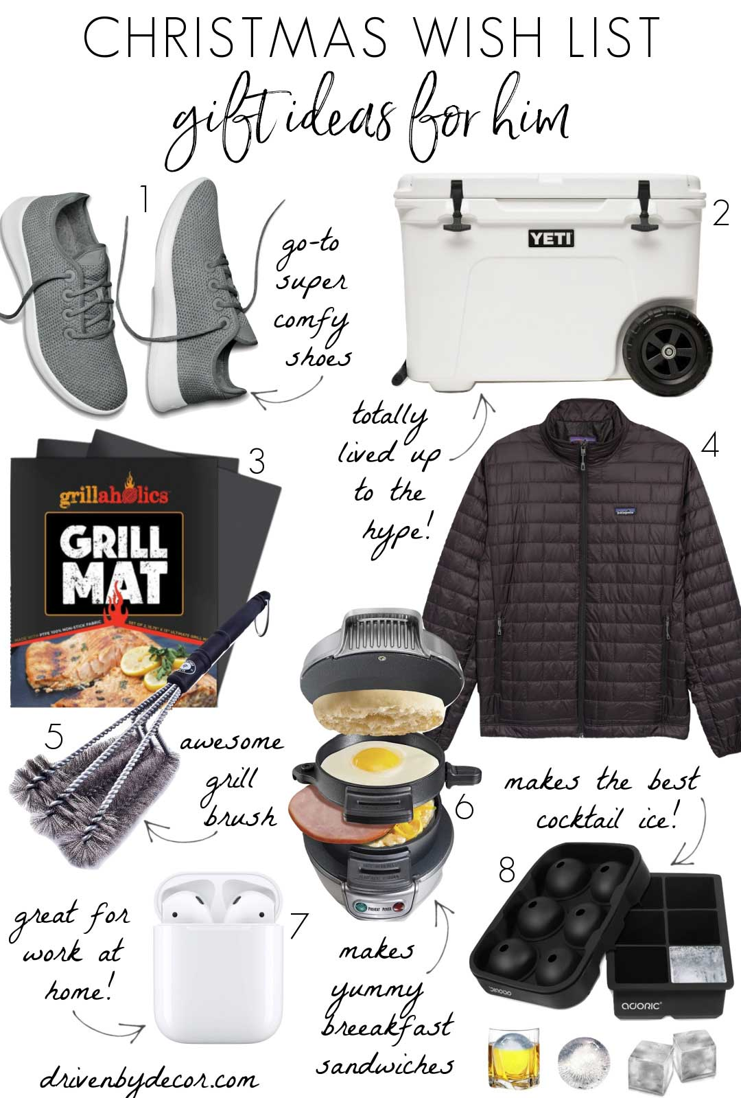 The best Christmas gift ideas for him!