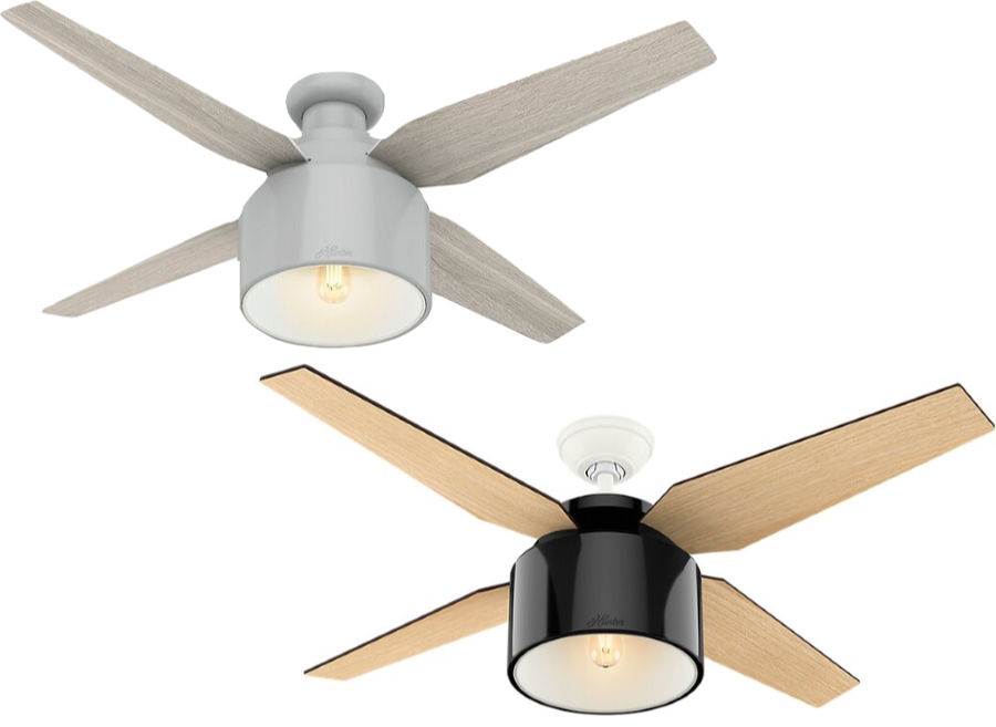 The cutest ceiling fan!!! Love the design and the color options - so pretty!
