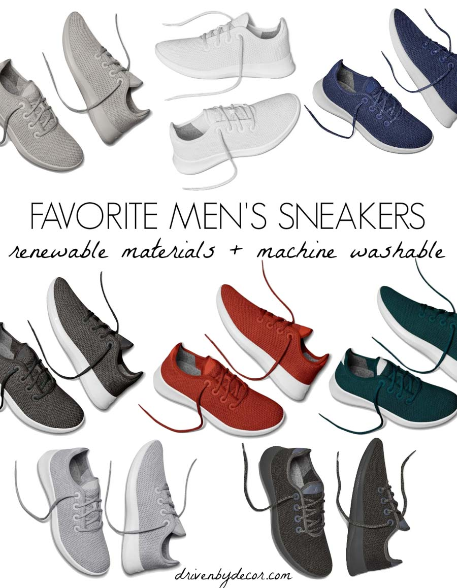 Great Christmas wish list idea - these look like great men's sneakers!