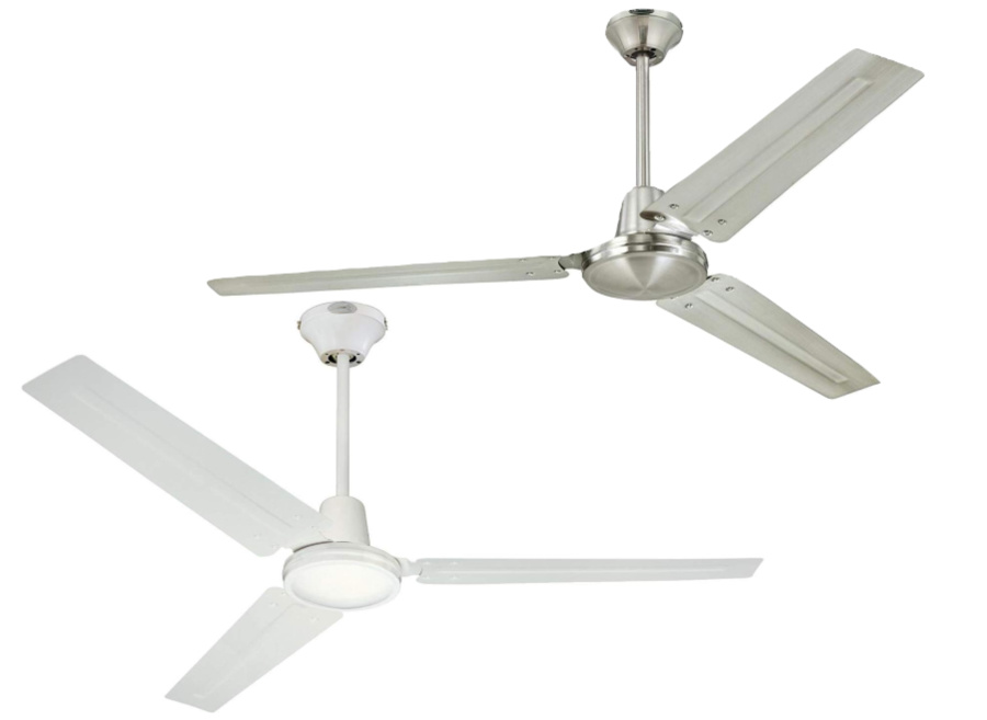 Such a great price for these simple, sleek, ceiling fans!