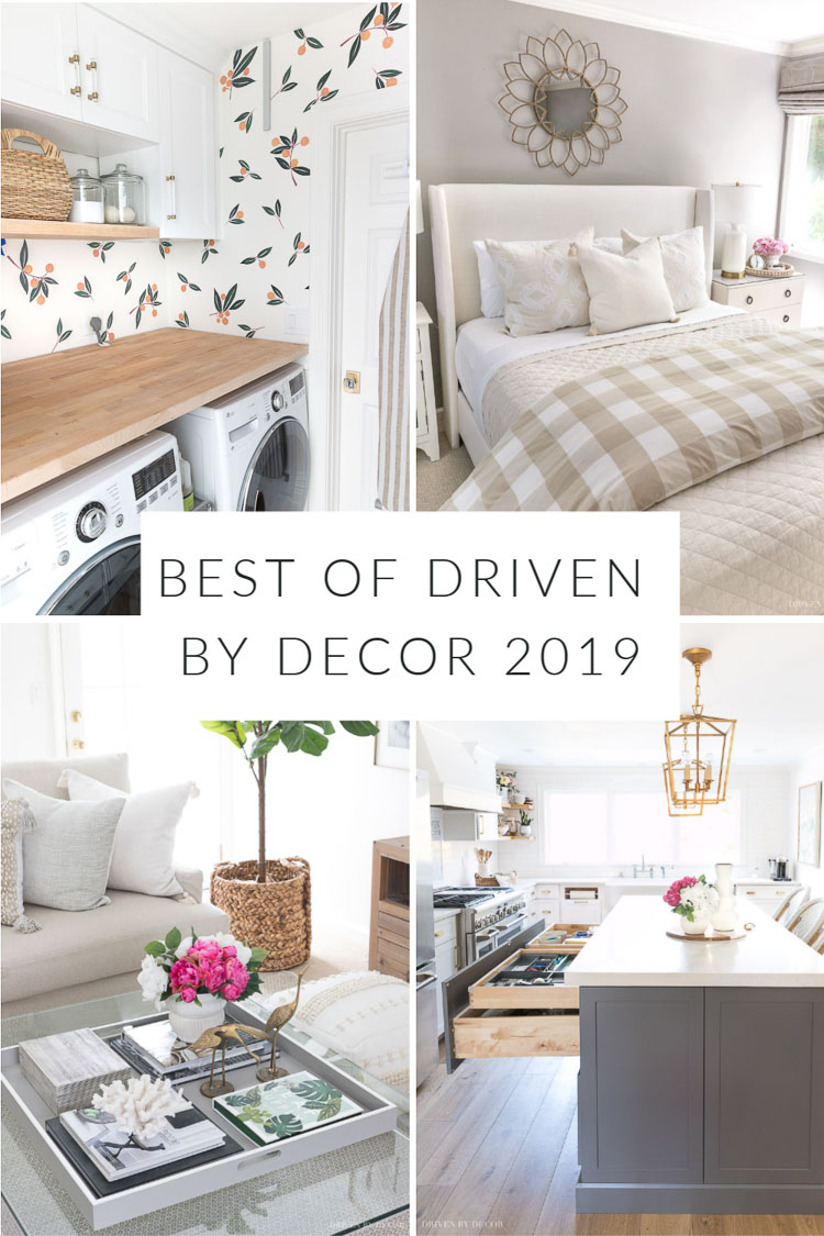 Loved looking through all of these great posts! Best of Driven by Decor 2019