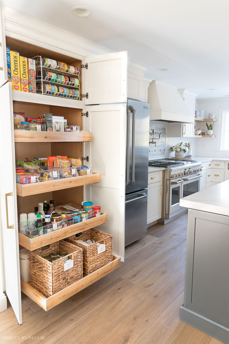 So many great pantry organization ideas in this post!!