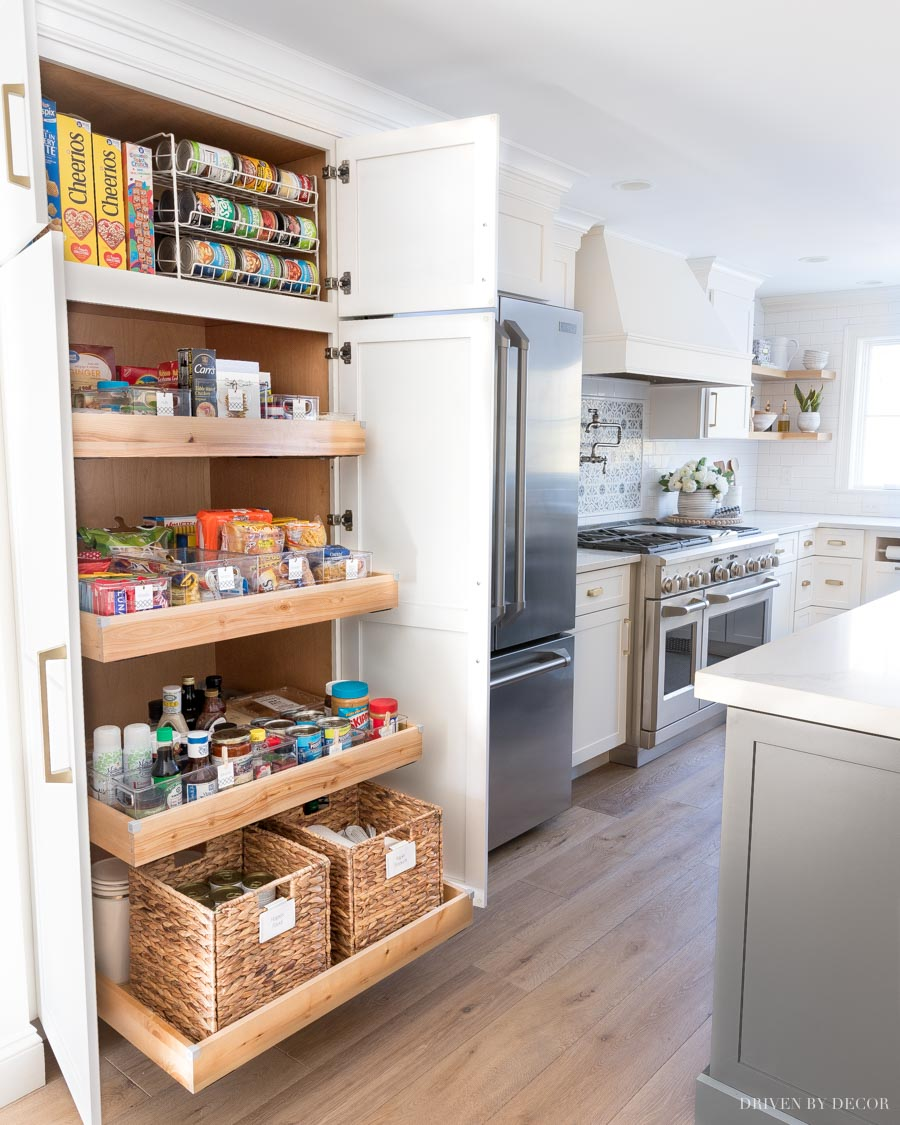 Pantry Organization Ideas My Six Favorites Driven By Decor