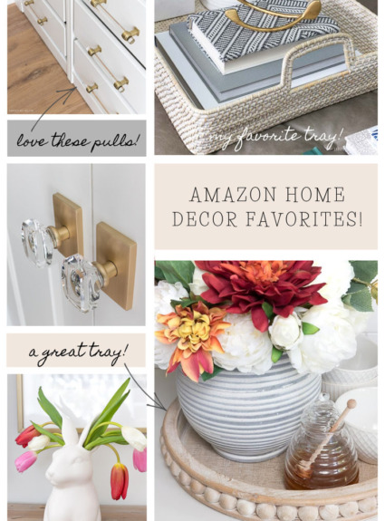 My Amazon home decor favorites!