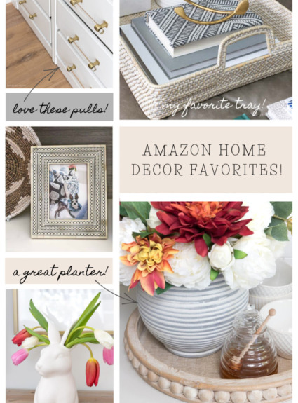 Amazon Home Decor: My 15 Favorites!