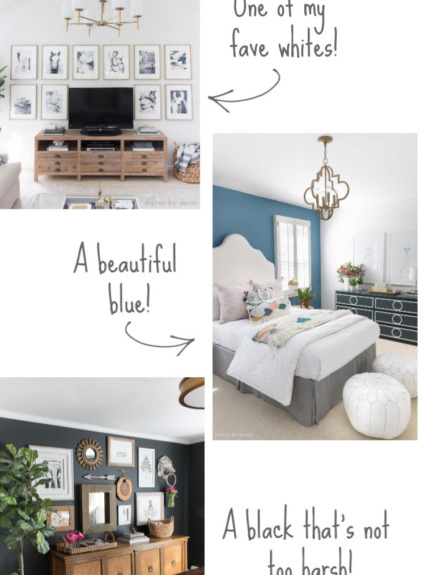 Sharing ALL of my home's paint colors!