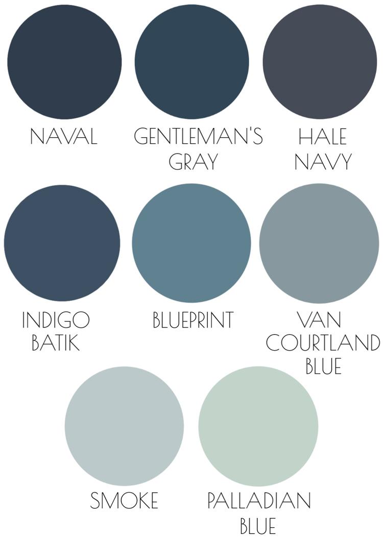 The 20 Best Blue Paint Colors Readers' Favorites   Driven by Decor