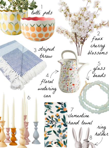 Spring Decor: My Favorite Decorating Finds for the Season!