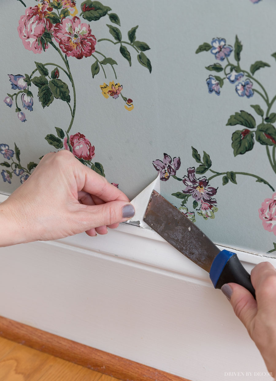 How to remove wallpaper - this is the best way to start!