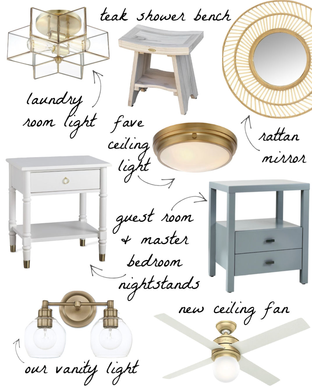 Some of my favorite furniture and accessories in our home!