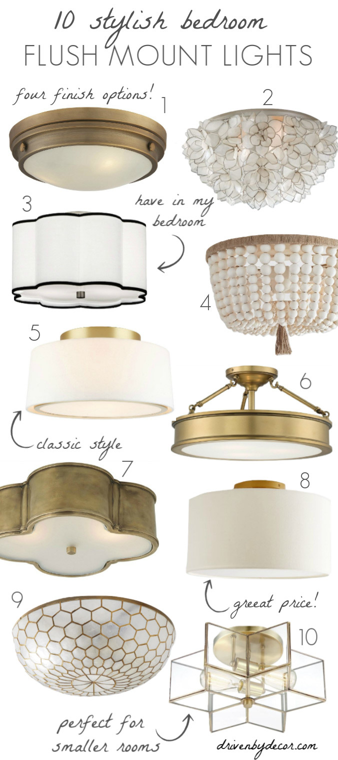 Bedroom Light Fixtures: The Complete Guide!  Driven by Decor