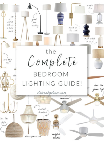Bedroom Light Fixtures: The Complete Guide!