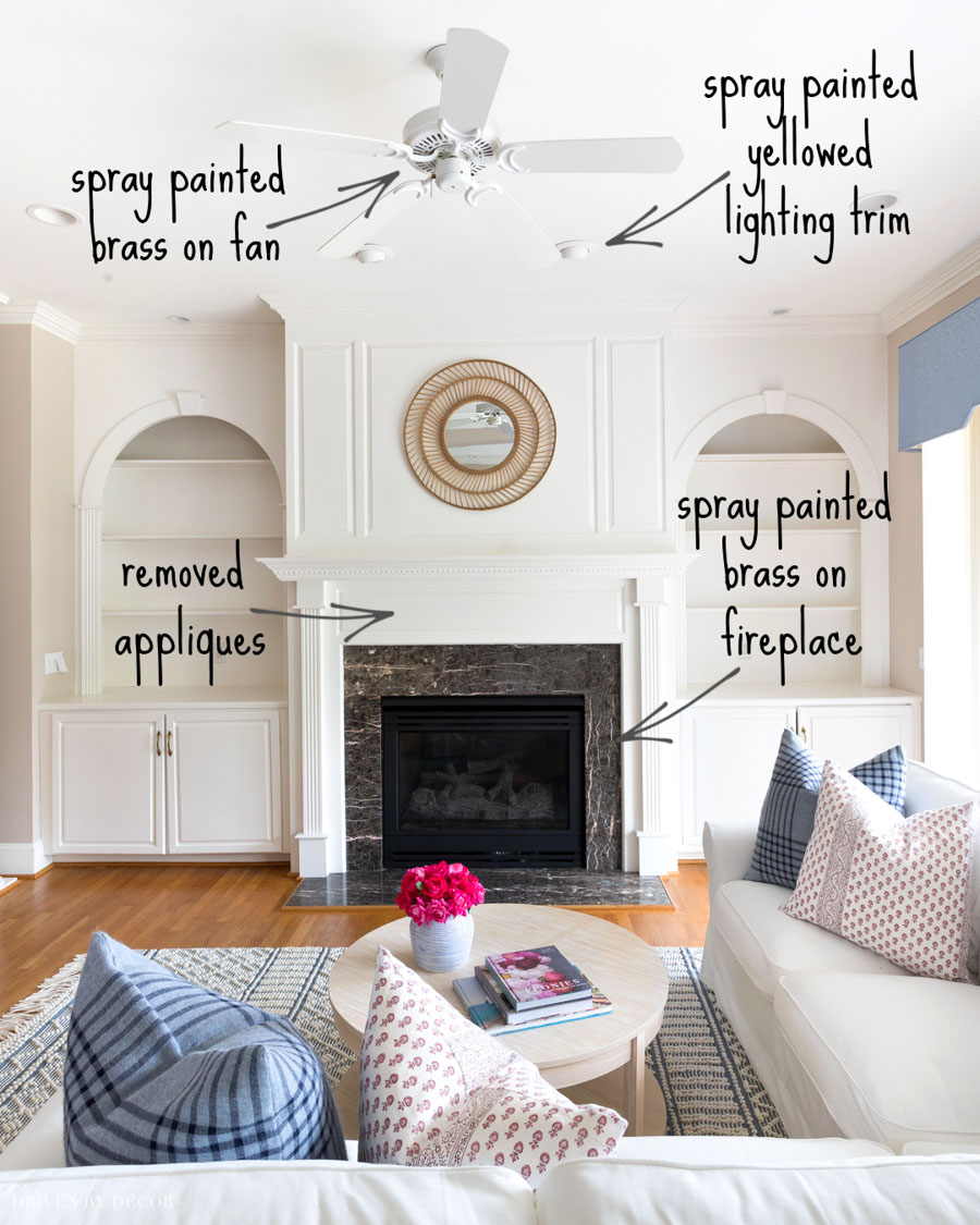 Love these spray paint ideas for simple home updates!