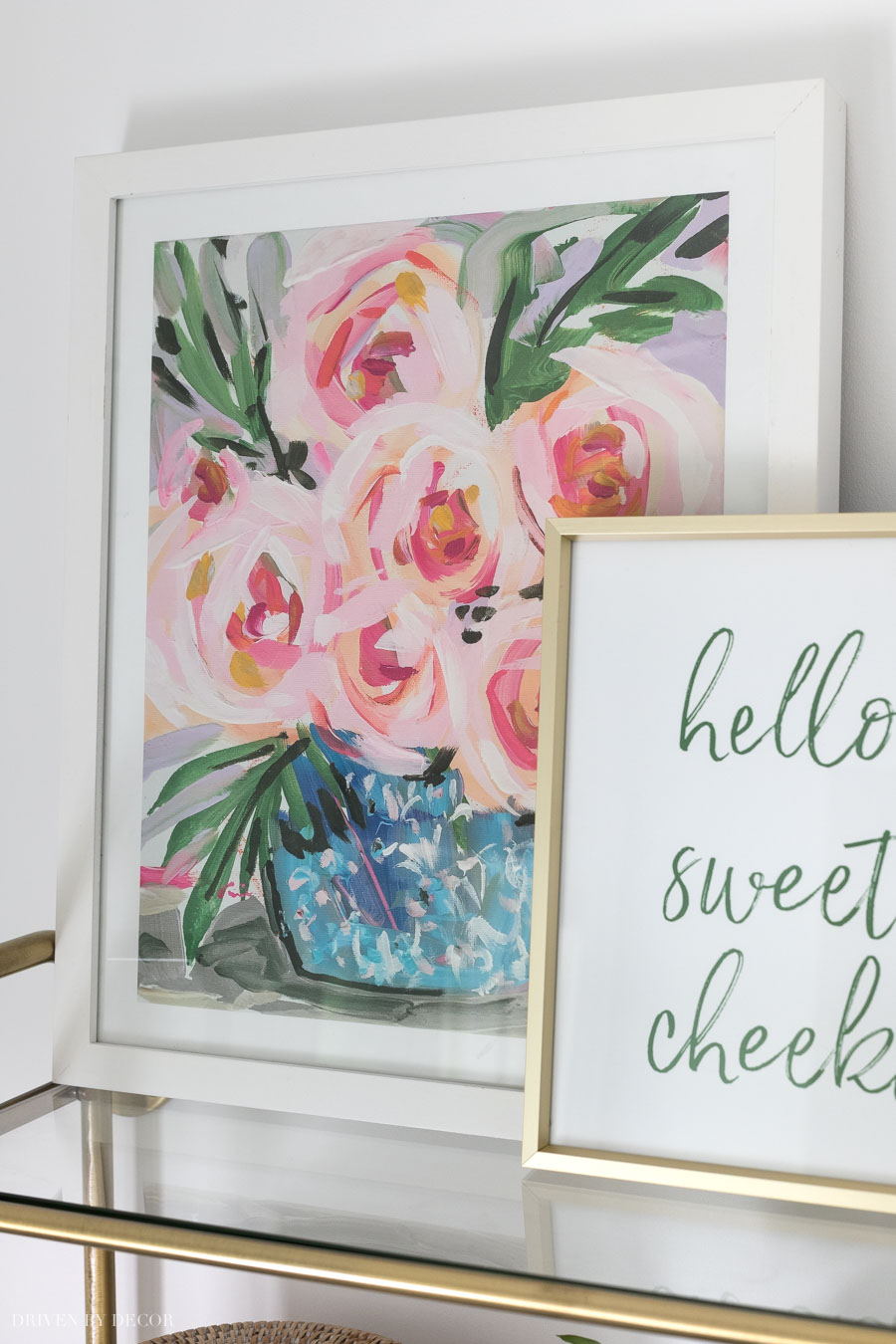 Beautiful floral art print!