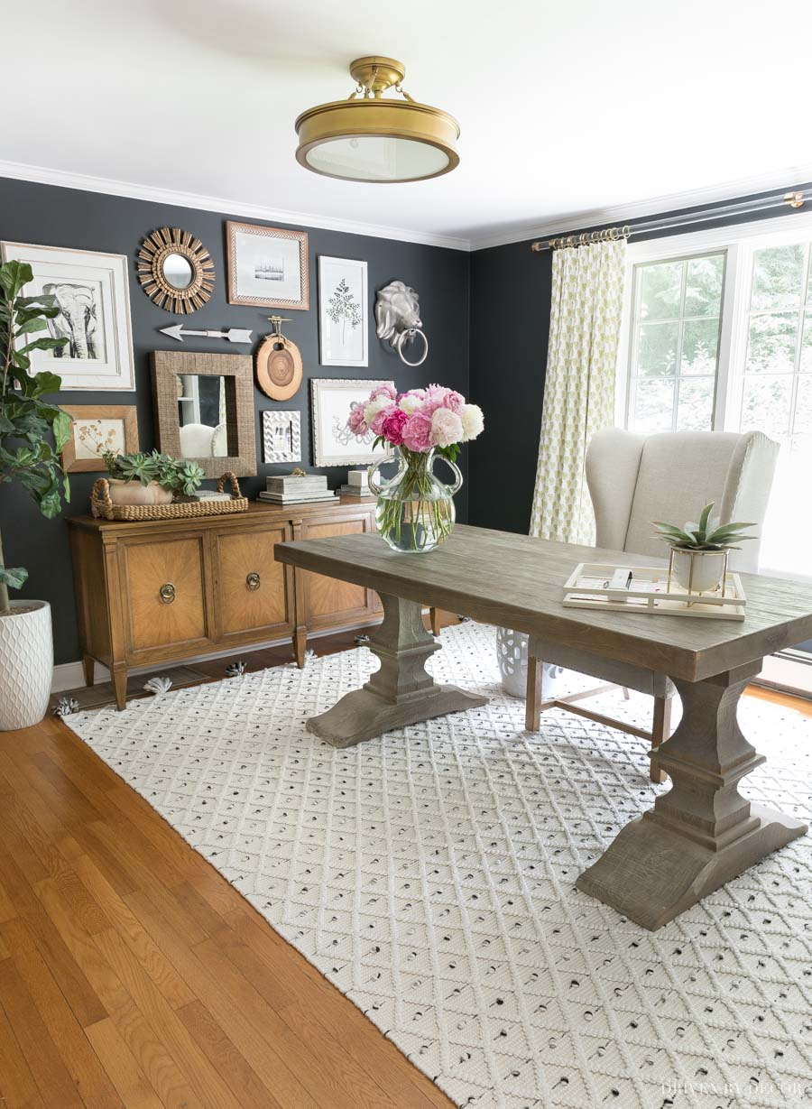 Love this home office rug!