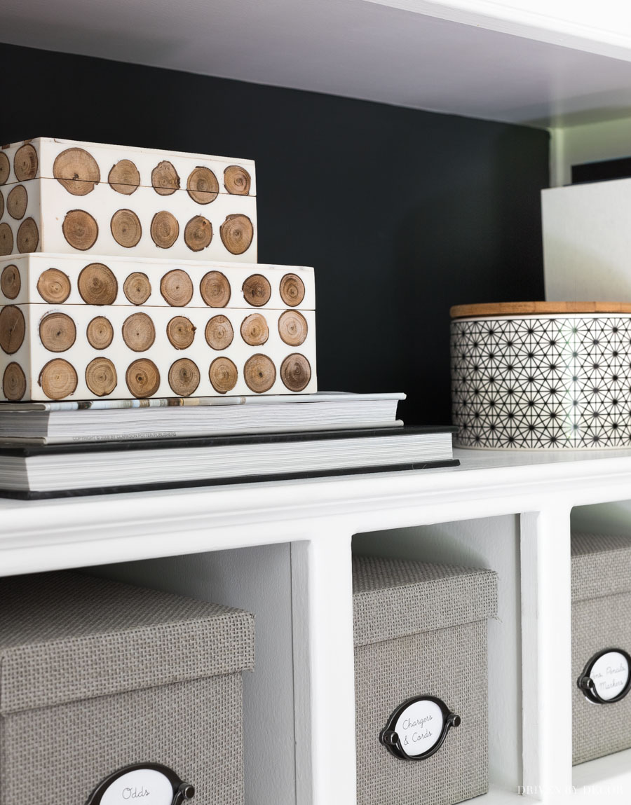 Love these decorative boxes! So perfect for pretty storage!