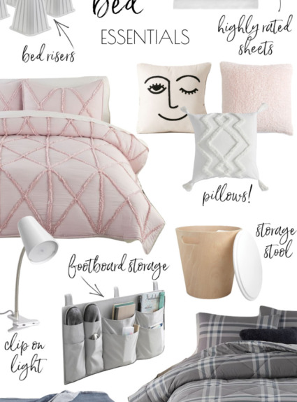 Stylish Dorm Room Essentials 2020