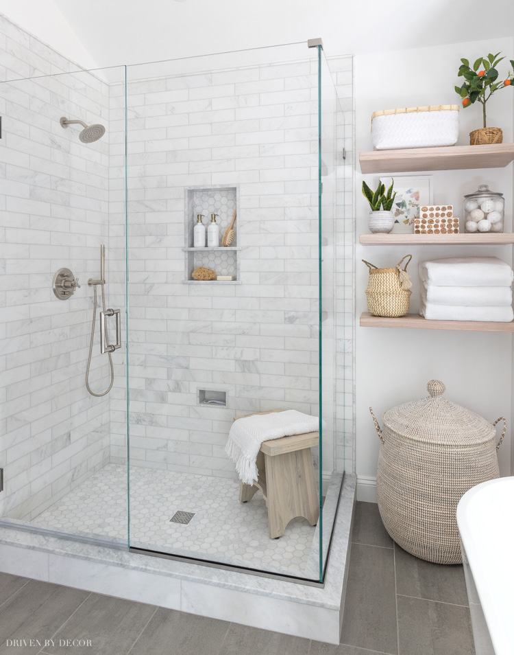 Great advice for choosing a glass shower enclosure - costs included!