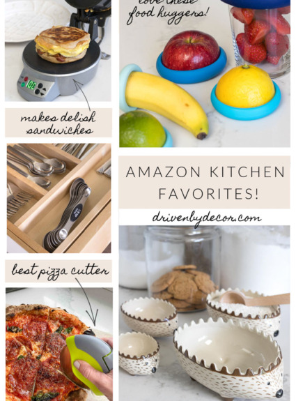 My 15 Favorite Amazon Kitchen Finds!