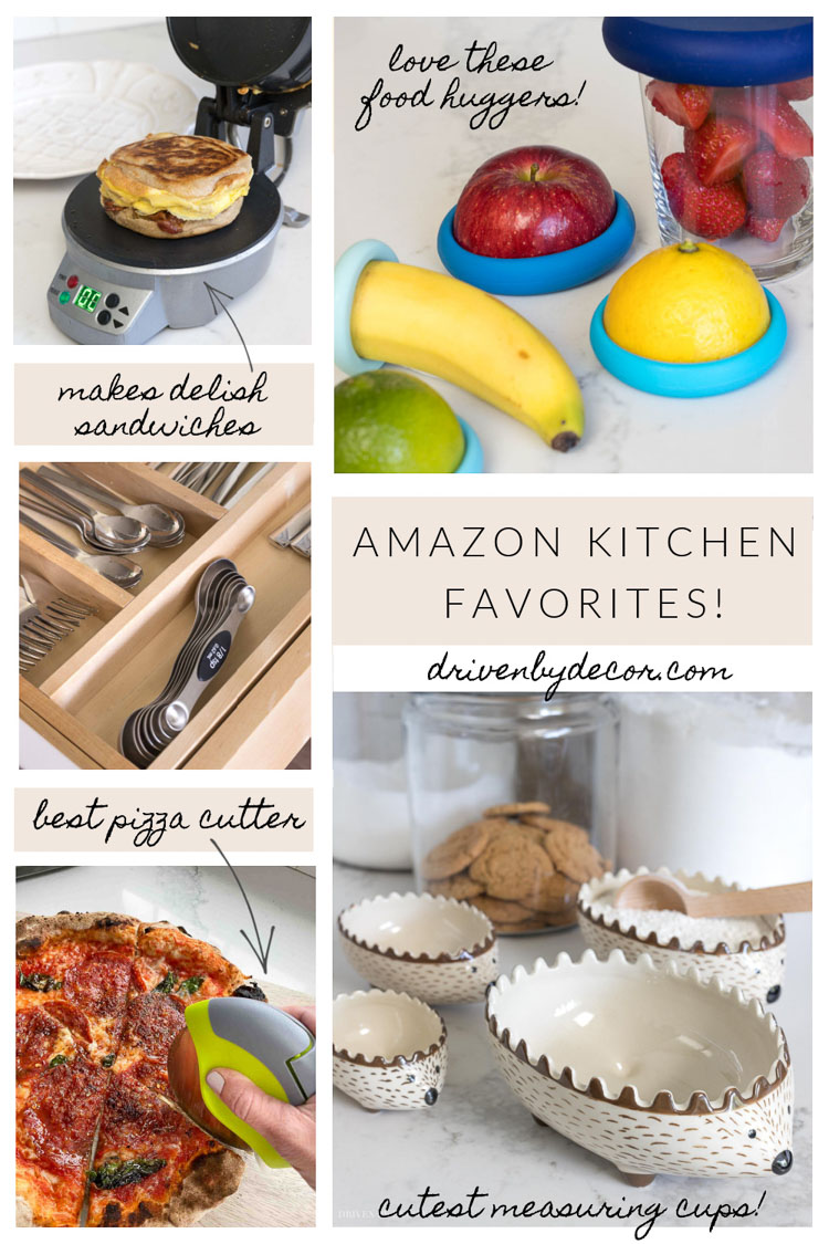 My 15 Amazon kitchen favorites!