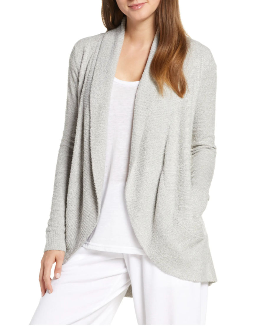 Love this Barefoot Dreams cardigan that's on sale for the Nordstrom Anniversary Sale!