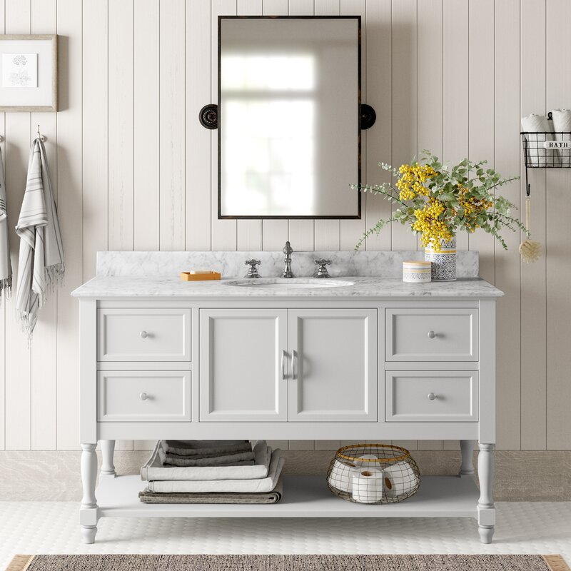 """Gorgeous 60"""" vanity that's on closeout deal!"""