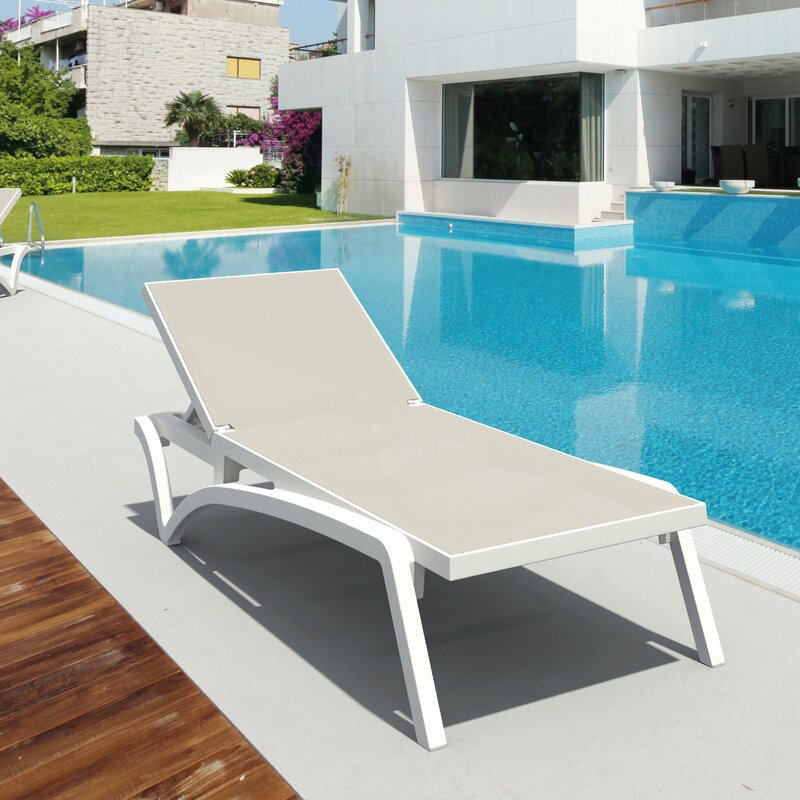 Reclining chaise loungers at a great price!