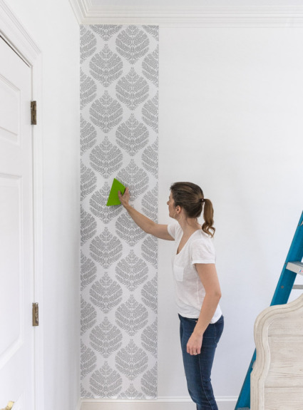 Peel & Stick Wallpaper: How My First Project With It Turned Out + Your Questions Answered!
