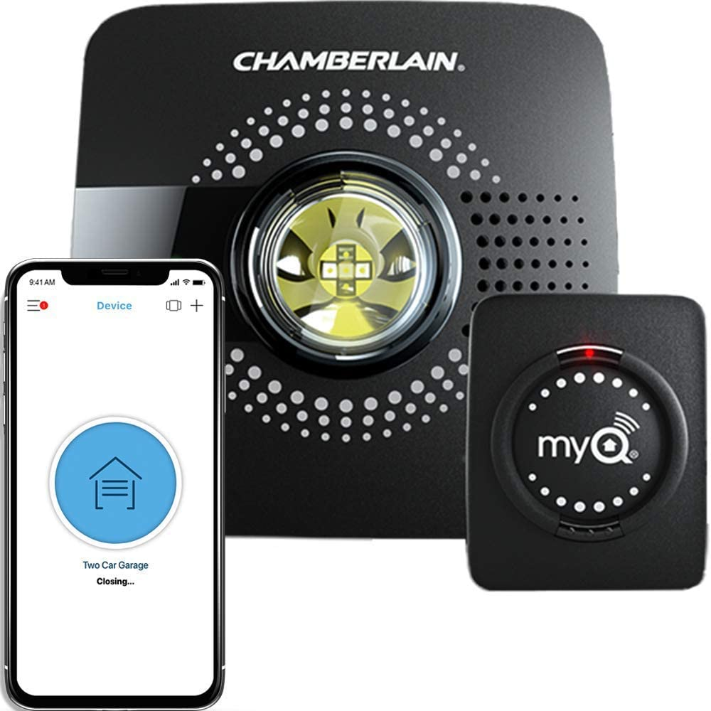 Our smart garage door opener - such a game changer!