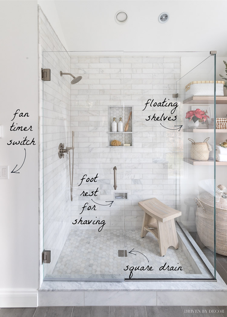 Ten master bathroom remodel ideas!