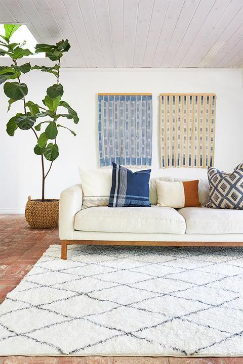 Washable rugs are a 2021 design trend I love!