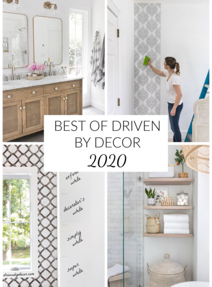 Best of Driven by Decor 2020!