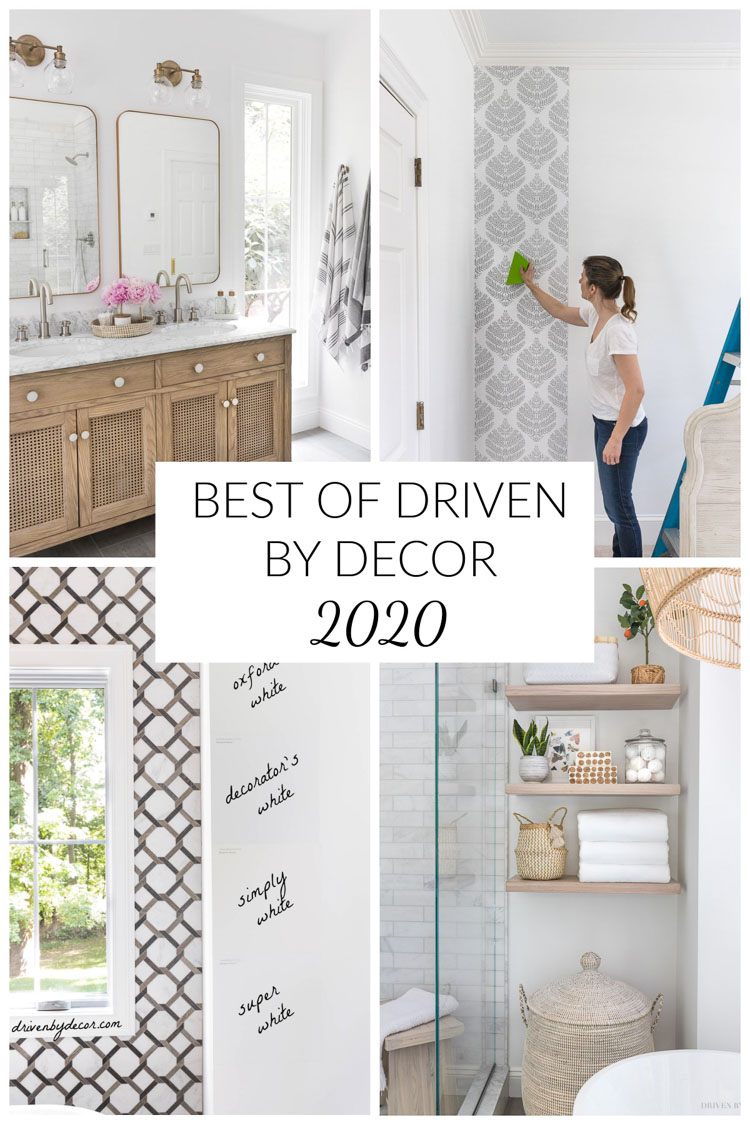 The best of Driven by Decor - 2020!
