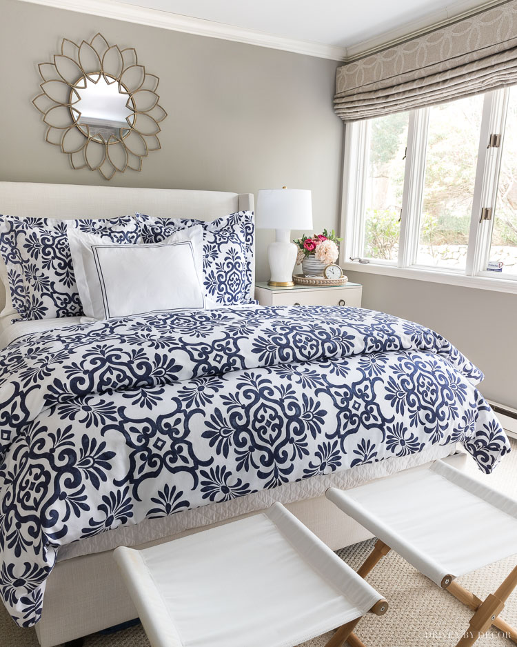 Looking for the best duvet insert? I'm sharing my favorites plus the 7 things to look for when shopping for one!