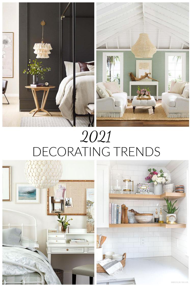 2021 home decor trends!