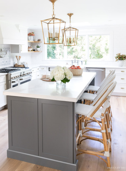Kitchen Counter Stools 101: 4 Must-Know Things to Look For + My Favorite Picks!