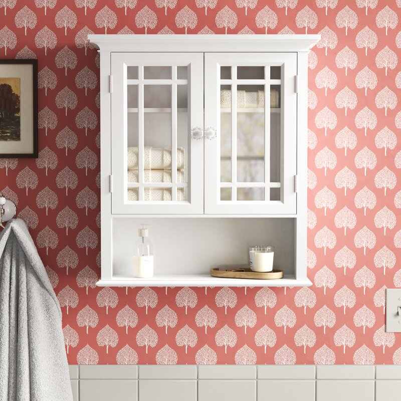 A wall mounted bathroom cabinet that's on an amazing Flash Deal sale!