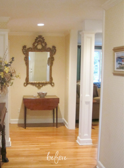 """My """"Before"""" & """"After"""" Entryway Makeover!"""