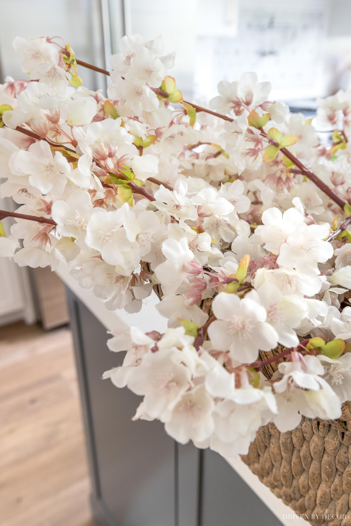 These artificial cherry blossoms look SO real!