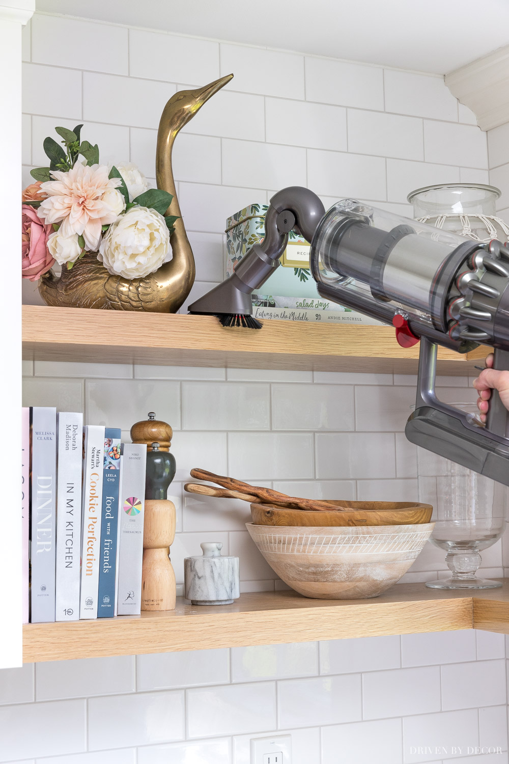 I LOVE this attachment for my Dyson cordless - makes it so easy to dust ledges and shelves!