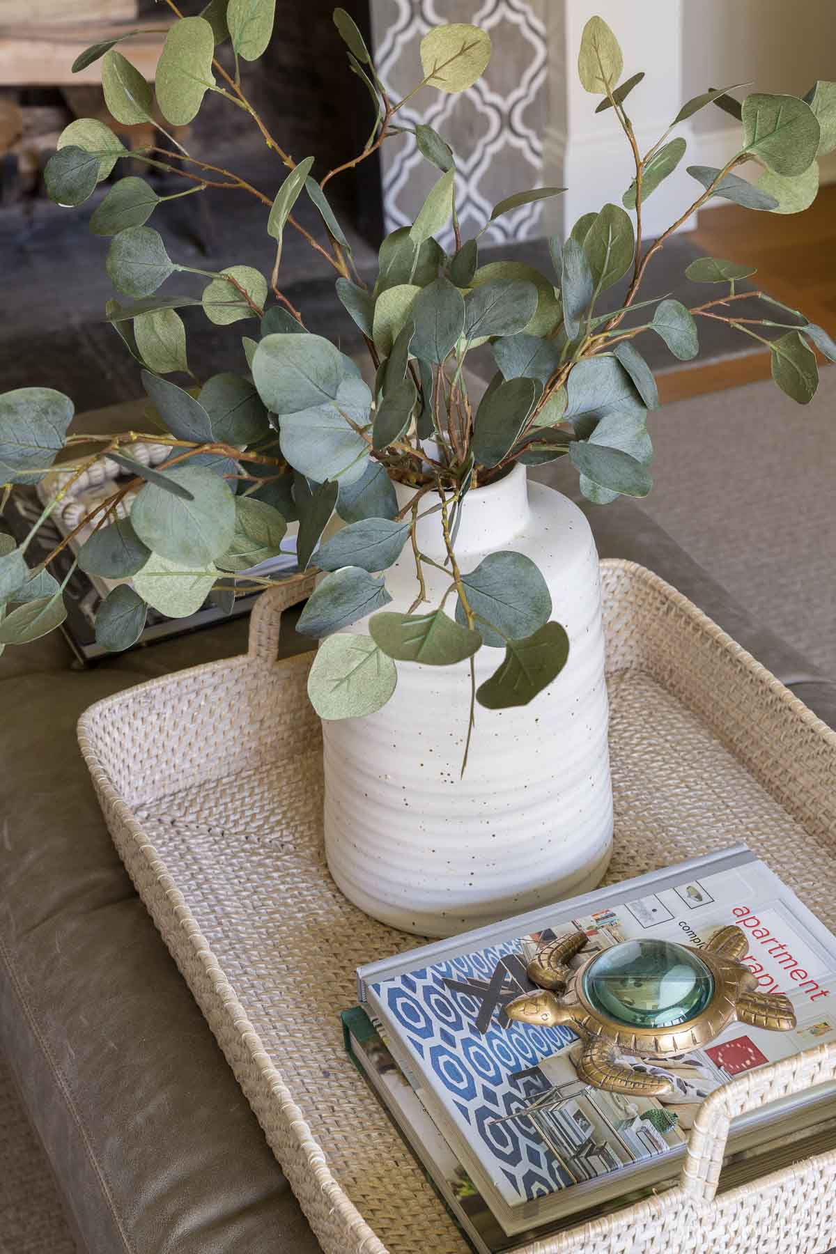 This faux eucalyptus is one of my go-to's!