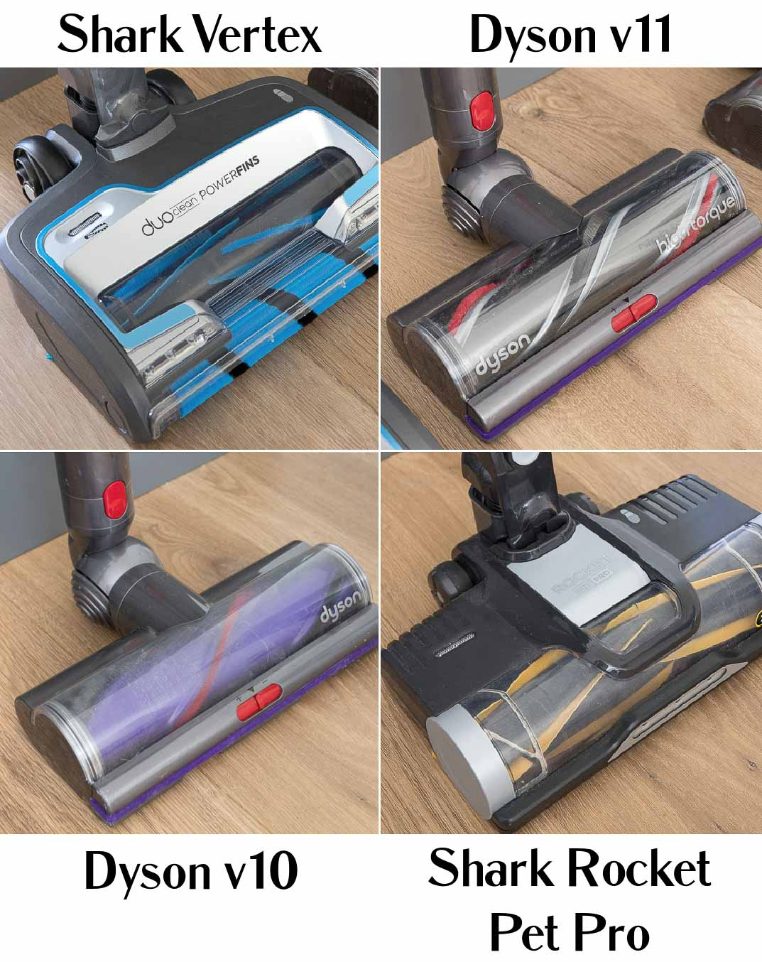 Review of Shark vs. Dyson cordless vacuums