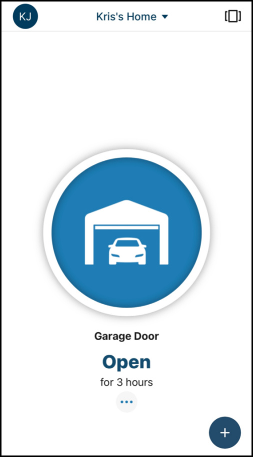 The app we use for opening our garage door - such a life saver!
