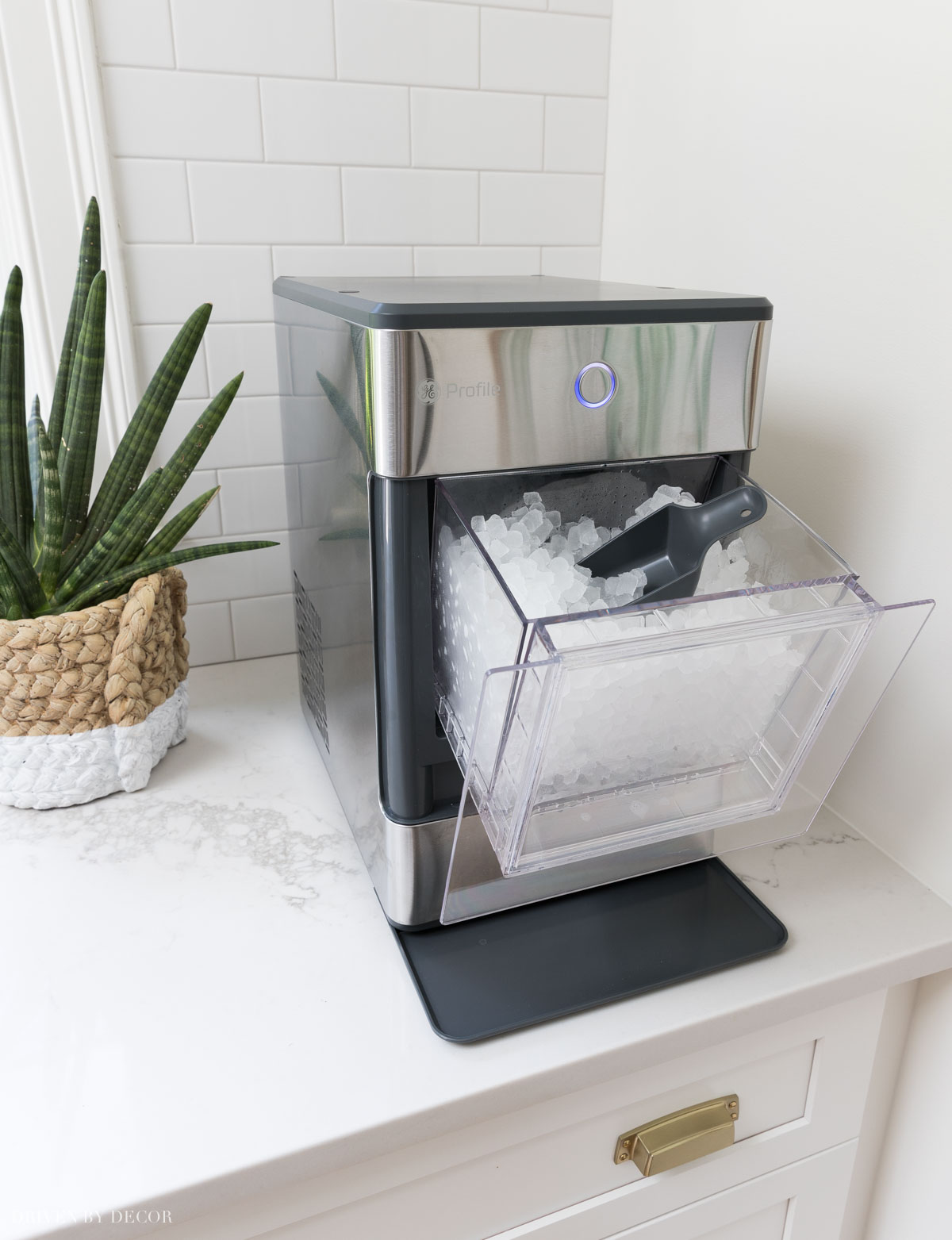 This countertop ice maker makes the BEST nugget ice!