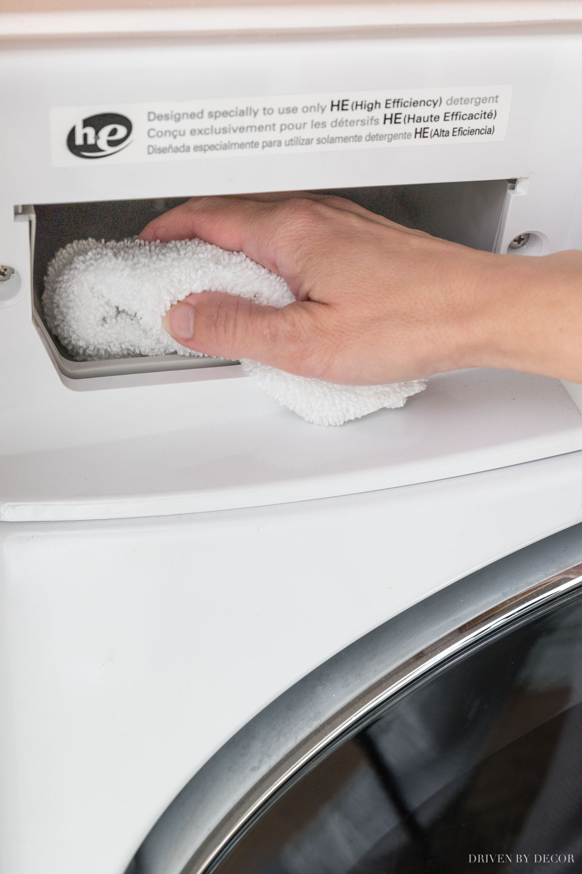 Tips on how to clean your washing machine!