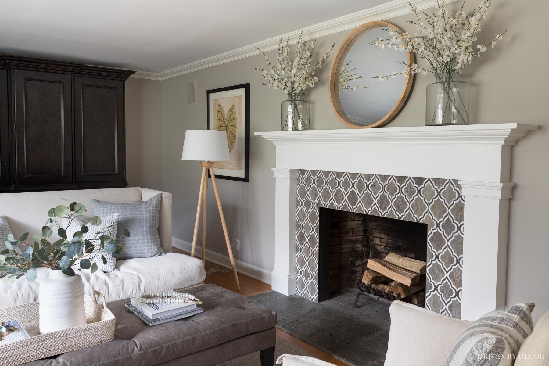 Anew Gray paint color in our living room