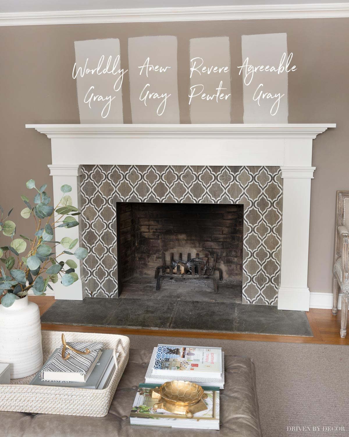 Anew Gray versus other greige paint colors