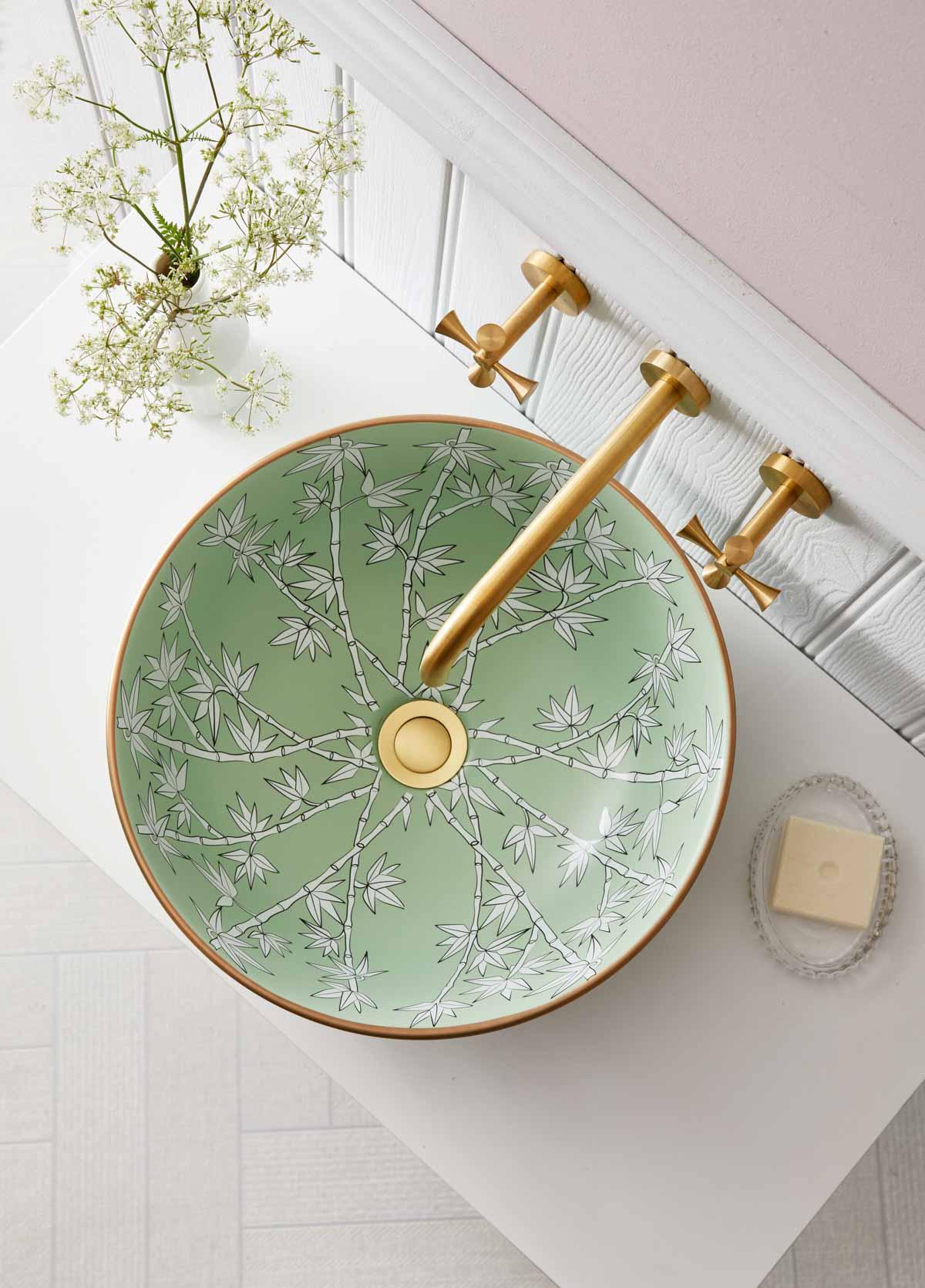 Gorgeous porcelain basin sink
