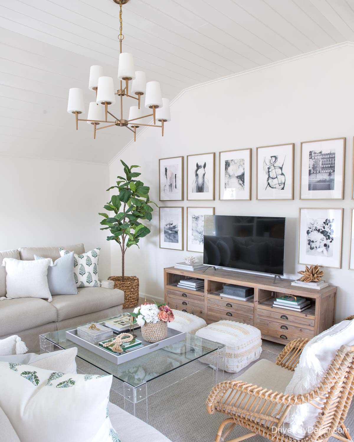 Home remodel: Our family room after remodeling!